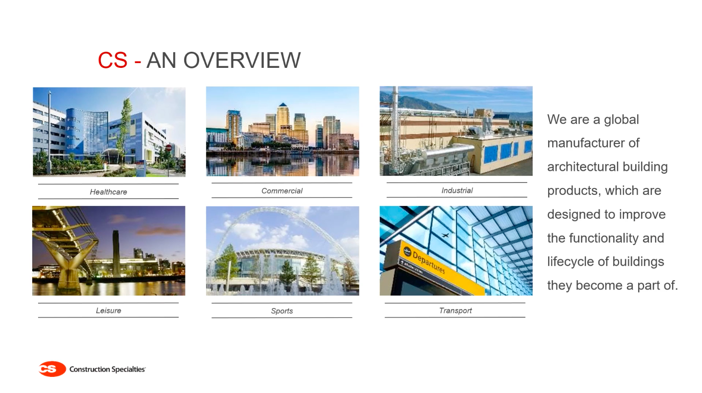 Construction specialties ABCs overview