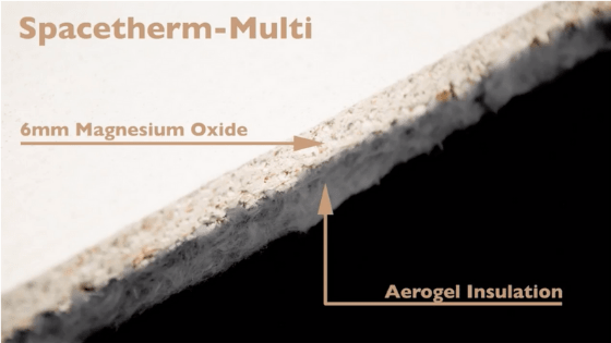 Diagram of spacetherm multi product